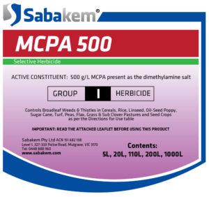MCPA 500