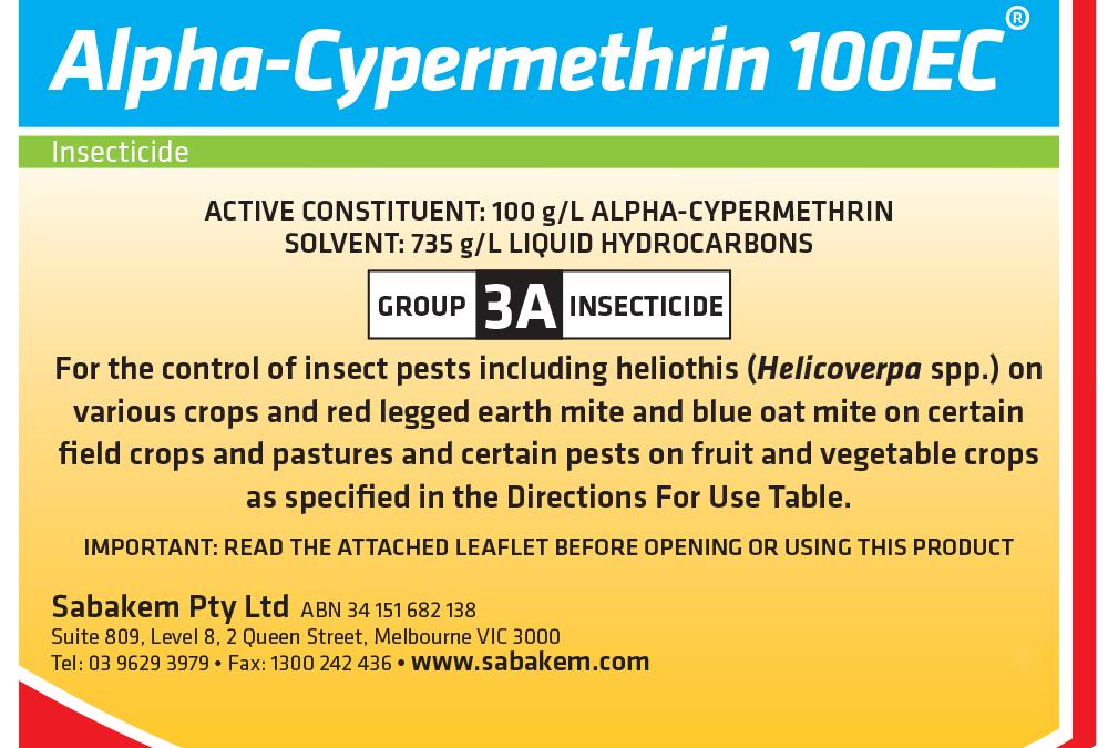 Alpha Cypermethrin 100EC
