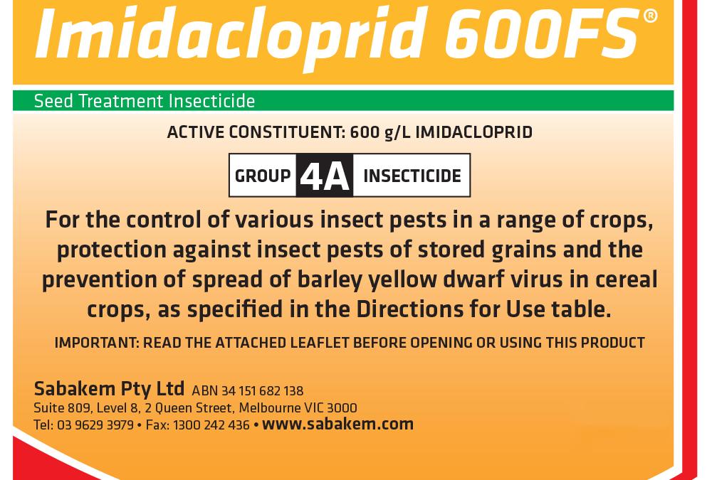 Imidacloprid 600FS