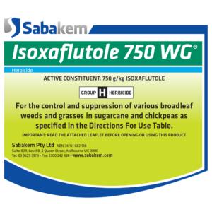 Isoxaflutole 750 WG