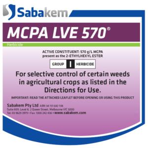 MCPA LVE 570