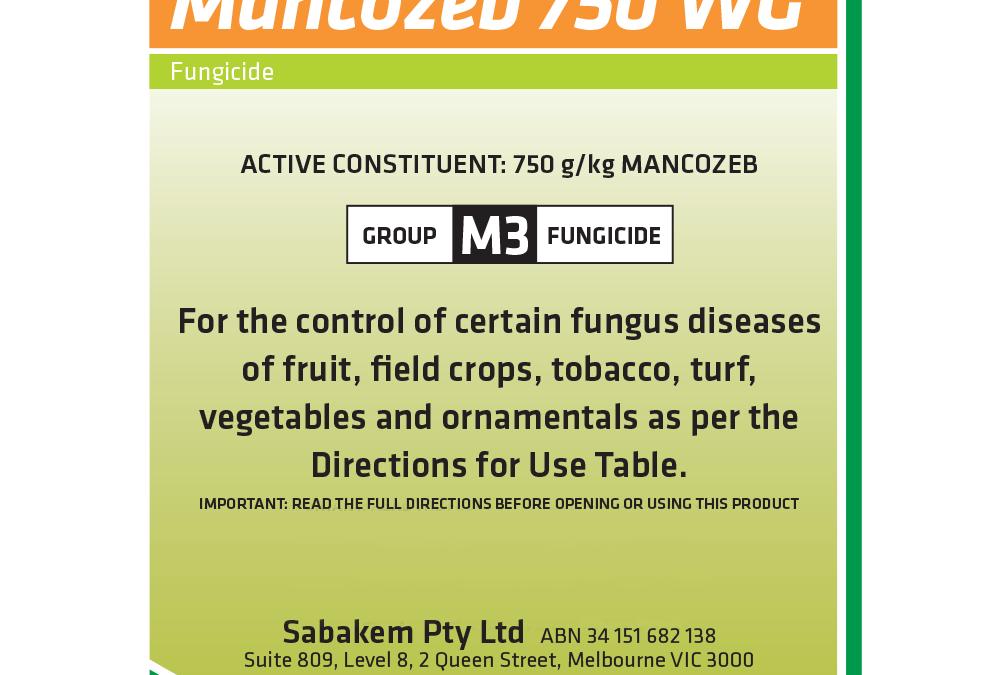 Mancozeb 750 WG
