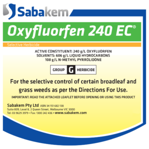 Oxyfluorfen 240EC