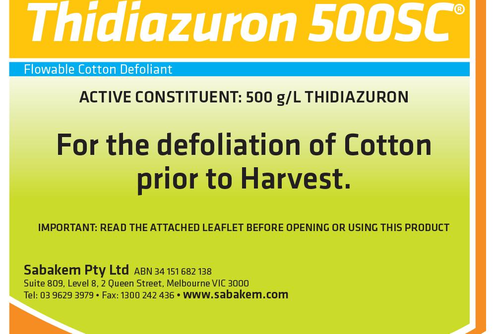 Thidiazuron 500SC