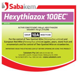 Hexythiazox 100EC