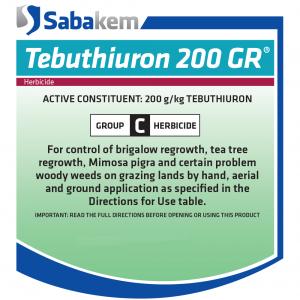 Tebuthiuron 200 GR