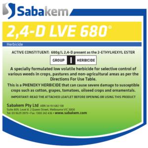 2, 4-D LVE 680