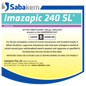 Imazapic 240SL