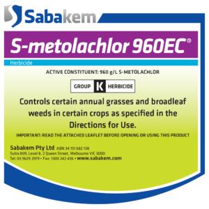 S-Metolachlor 960 EC