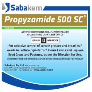 Propyzamide 500 SC